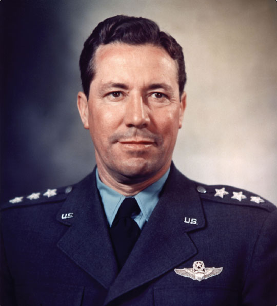 "Figure 1-10. First Administrator of the FAA was General Elwood Richard ""Pete"" Quesada, 1959–1961."