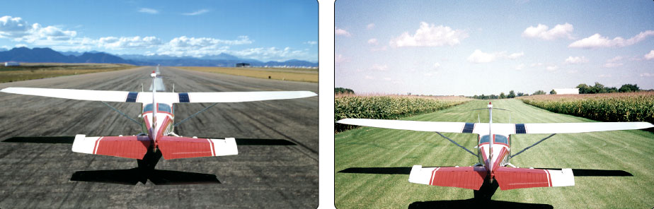 Figure 11-16. An aircraft's performance during takeoff depends greatly on the runway surface.