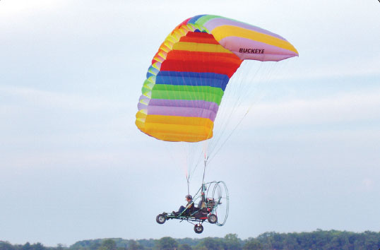 Figure 5-20. A powered parachute.