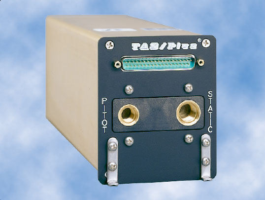 Figure 8-15. Teledyne's 90004 TAS/Plus Air Data Computer (ADC) computes air data information from the pitot-static pneumatic system, aircraft temperature probe, and barometric correction device to help create a clear picture of flight characteristics.