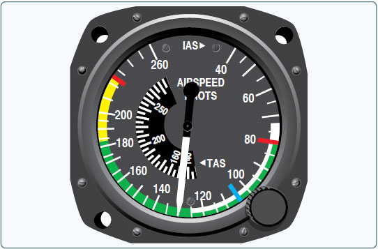 Figure 9-2. Multi-engine airspeed indicator.