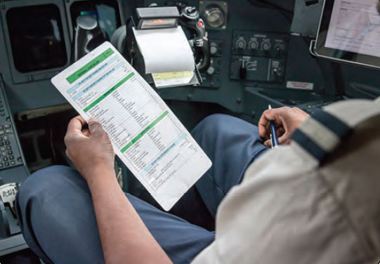 Figure 1-17. Checklists have been the foundation of pilot standardization and flight safety for many years.