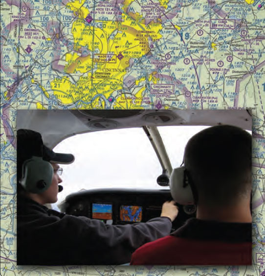 Figure 1-7. The flight instructor is responsible for teaching and training students to become safe and competent certificated pilots.