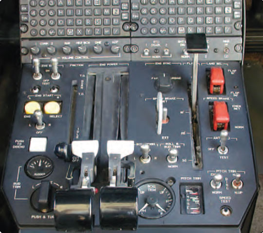 Figure 15-3. Jet engine power controls.