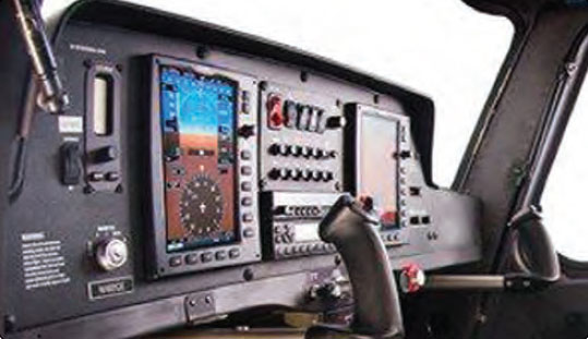 Figure 16-11. Stoke flight control with conventional engine controls.