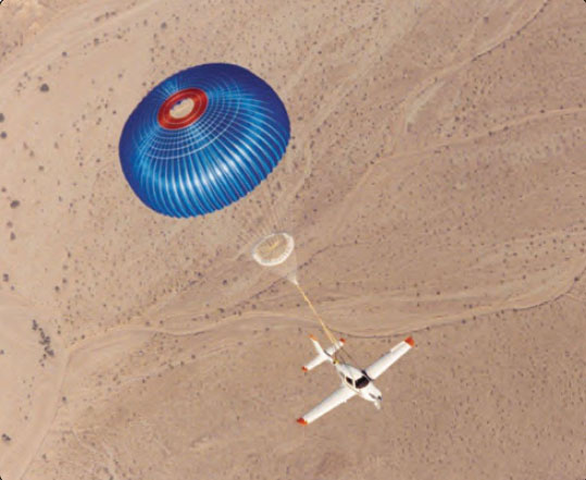Figure 16-13. A ballistic recovery parachute is a popular safety feature available on some LSA.