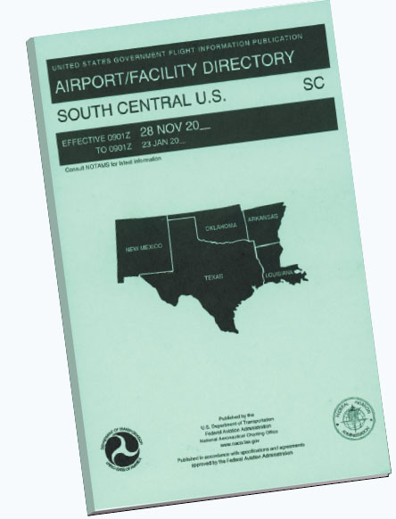 Figure 16-24. Chart Supplement U.S. (formerly Airport/Facility Directory).