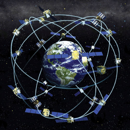 Figure 16-40. Satellite constellation.