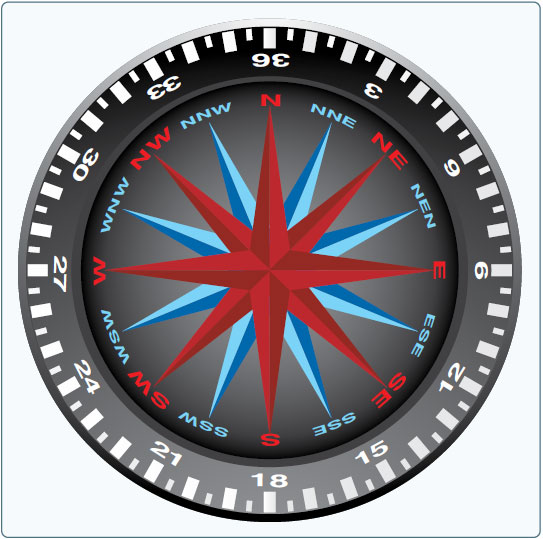 Figure 16-6. Compass rose.