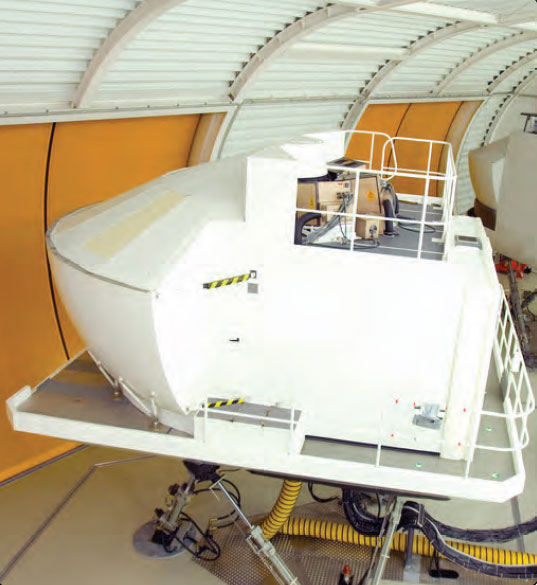 Figure 4-17. A Level D full-flight simulator could be used for UPRT.