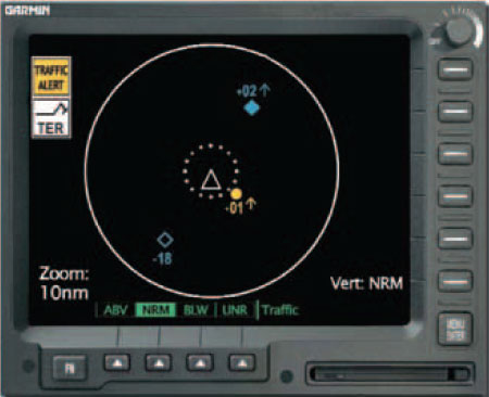 Figure 5-57. Alert System by Avidyne (Ryan).