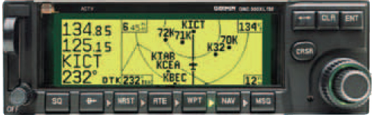 Figure 9-23. Onboard RNAV receivers have changed significantly. Originally, RNAV receivers typically computed combined data from VOR, VORTAC, and/or DME. That is generally not the case now. Today, GPS such as the GNC 300 and the Bendix King KLS 88 LORAN receivers compute waypoints based upon embedded databases and aircraft positional information.