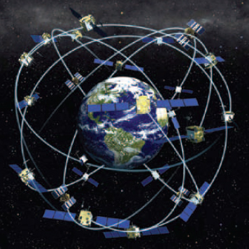 Figure 9-27. Typical GPS satellite array