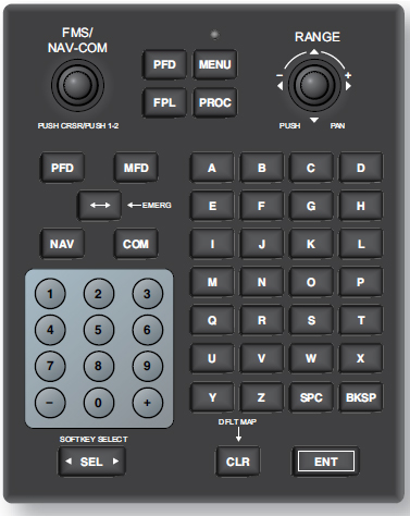 Figure 3-4. An FMS keypad.