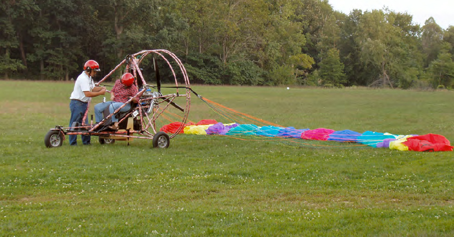 Figure 4-8. Powered parachute.