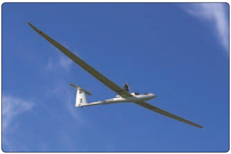 Figure 2-5. The Schempp-Hirth Nimbus-4 is a family of highperformance Fédération Aéronautique Internationale (FAI) open class gliders.