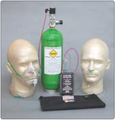 Figure 13-12. Electronic Pulse Demand Oxygen System (EDS).