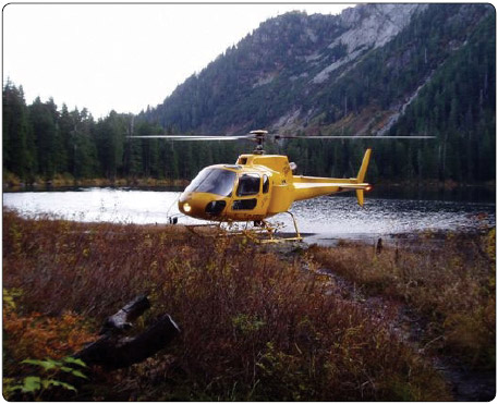 Figure 1-2. Search and rescue helicopter landing in a confined area.