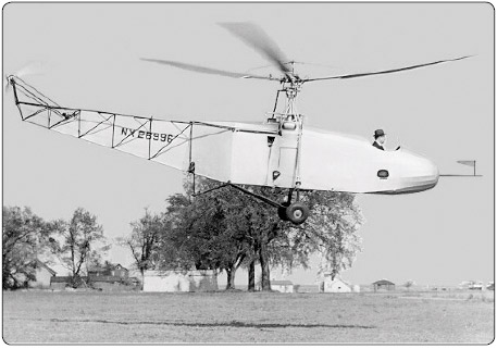 Figure 1-5. Igor Sikorsky designed the VS-300 helicopter incorporating the tail rotor into the design.