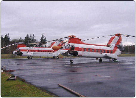 Figure 1-6. Tandem rotor helicopters.