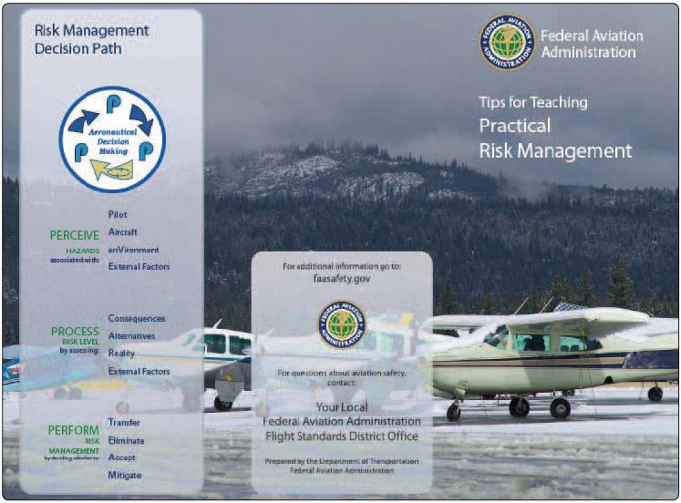 Figure 1-9. Brochure available from the FAA website for teaching practical risk management.
