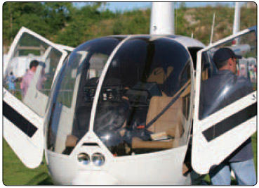 Figure 2-1. A CFI provides an overview of the helicopter to introduce the main components and discuss how to enter and exit a helicopter properly.